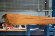 Deodar Cedar Mantle, Dimensions: length: 9.5ft., width: 16in., thickness: 13in